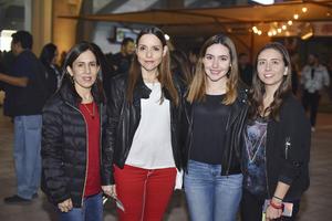 Betty, Lety, Daniela y Alejandro