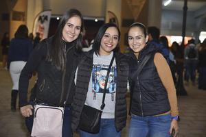 Mónica, Yare y Laura