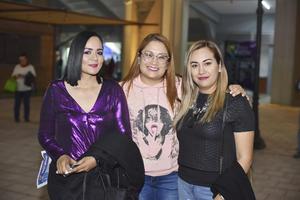 Norely, Sofía y Violeta