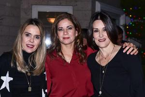 Katy, Adriana y Cecilia.