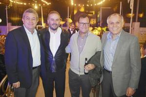 Benjamin, Omar, Daniel y Fernando