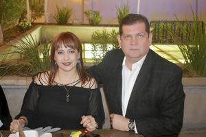 Claudia y Mauricio