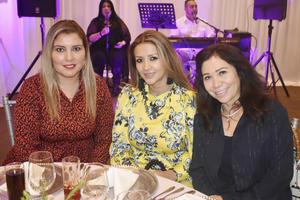Ana, Laura y Elva