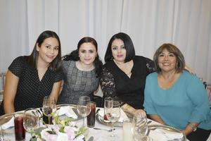 Ileana, Angelica, Ivonne y Lupita