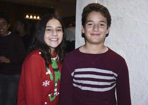 Sofía Múzquiz y Alex Aguilera