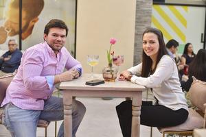 Miguel y Estefania