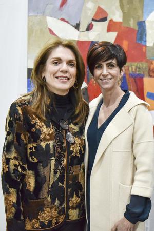 Alejandra Alvarado y Laura Calleja.