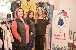 Alba Daher,Susy Mendoza y Yadira Berumen.