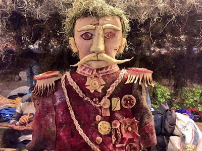 La noche de los rábanos, en Oaxaca.