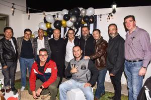24122019 GRATA CELEBRACIóN.  Jorge Perea disfrutó de la fiesta de cumpleaños organizada en su honor.