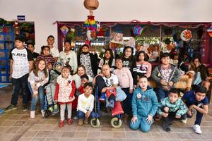 27122019 FESTEJO DECEMBRINO.  Posada de los niños de la Casa Feliz.