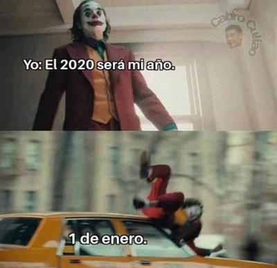Los memes que reciben el 2020 en redes sociales