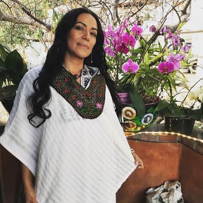 Paz y amor. La cantante Lila Downs deseó lo mejor a sus seguidores.