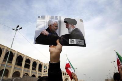 Reclaman el asesinato del general Qasem Soleimani.
