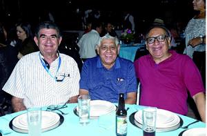 02012020 Víctor Dávila Viesca, Rodolfo Flores Alvarez y Víctor Hugo Flores.