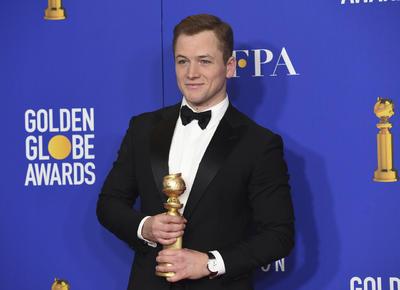 Mejor actor en película - musical o comedia Taron Egerton, Rocketman