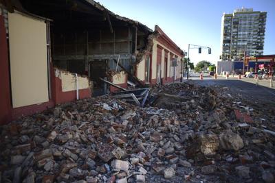 El causante es un fuerte sismo.