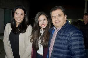 Elena, Marian y Manuel