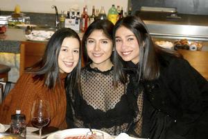Ana Laura, Ana Sofia y Katia