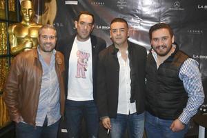 Pipe, Luis, Daniel y Memo