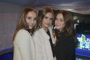 Alejandra, Pricila y Mariel