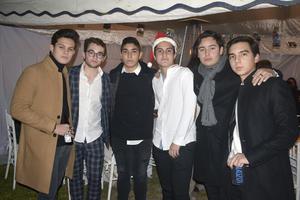 Ricardo, Jaime, Hugo, Fernando, Fernando y ernando