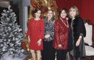 Angelina, Lourdes, Esperanza y Luly