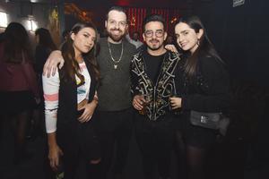 Ana Cris, Dan, Rafa y Marian