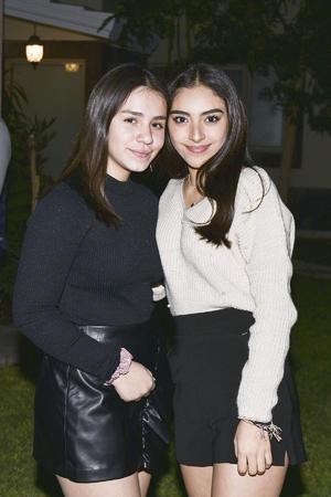 Adriana y Mary Fer.