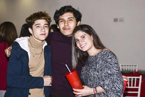 Afonso Gonzalez,Erik Rodriguez y Marijos Ramirez.