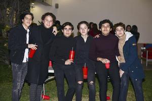 Bladimir,Eduardo,Juan,Tulio,Erik y Alfonso.