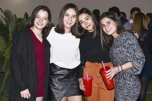 Daniela, Victoria, Ximena y Maryjose.