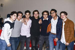 Evaristo,Ignacio,Diego,Claudio,Ewan,Francisco y Santiago.