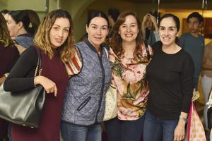 Ana, Mariana, Wendy y Marusa