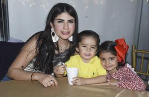 Indira Moreno, Jorge y Luisa