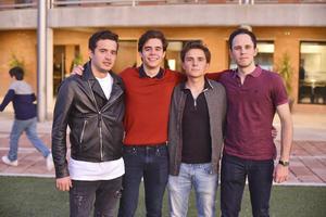 Diego, César, Andrés y Diego