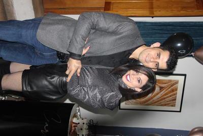 Carla y su esposo Emmanuel Retana.