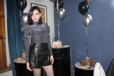 Carla Maa disfrutó su cumpleaños con sus amigos.