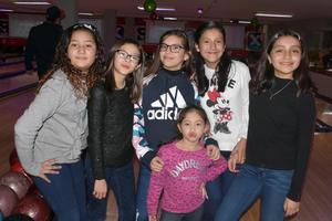 08012020 Grecia, Romina, Suhei, Frida, Kely y Natalia.