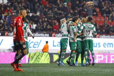 Santos Laguna pierde ante Xolos en el inicio del Clausura 2020