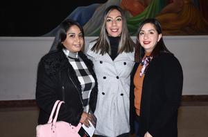 10012020 Alexis Mejía, Sandra Limones e Isela Nieto.