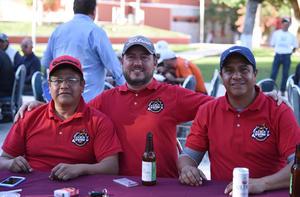 09012020 Mauro Campos, Carlos Valdez y Juan Lerma.
