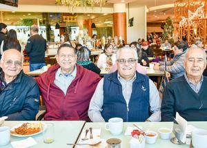 10012020 Luis Nava, Humberto Pérez, Enrique Castro y Sergio Ruiz.