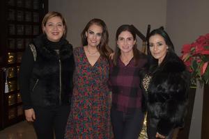 09012020 AMIGAS EN REUNIóN.  Grace, Julieta, Laura y Claudia.