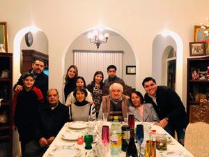 10012020 FAMILIA.  Othon, Ethian, Manlio, Sara, Sara, Bibiana, Francisco, Dominique, Josefina y Dom.