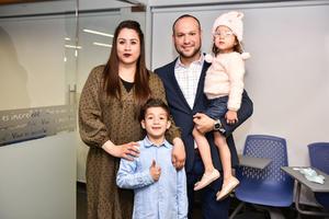10012020 Gabriela Galindo, Alfonso Aguirre, Sebastián y Bárbara Aguirre.