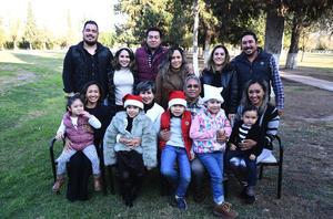 09012020 GRATA CONVIVENCIA.  La familia Adame disfrutó de su reunión.