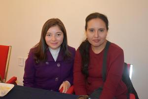 11012020 AMIGAS EN RECIENTE EVENTO.  Aridey y Alejandra.