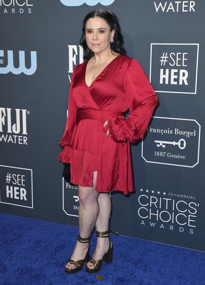 La alfombra azul de los Critics Choice Awards 2020