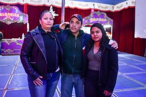 13012020 Ana Hernández, Rocío Rodríguez y Óscar Hernández.
